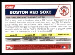 2004 Topps #642   Boston Red Sox Team Back Thumbnail