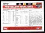 2004 Topps #732   -  Josh Beckett / Ivan Rodriguez / Alex Gonzalez World Series Back Thumbnail