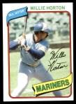 1980 Topps #532  Willie Horton  Front Thumbnail