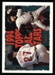 1995 Topps #393   -  Darrin Jackson / Jimmy Key All-Star Front Thumbnail