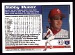 1995 Topps #458  Bobby Munoz  Back Thumbnail