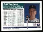 1995 Topps #564  Jeff Nelson  Back Thumbnail