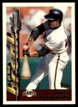 1995 Topps Traded #3 T Barry Bonds  Front Thumbnail