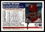 1995 Topps Traded #14 T Kevin Gross  Back Thumbnail