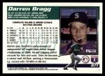1995 Topps Traded #87 T Darren Bragg  Back Thumbnail