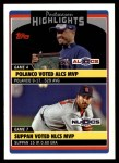 2006 Topps Update #191   -  Placido Polanco / Jeff Suppan Postseason Highlights Front Thumbnail