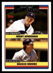 2006 Topps Update #312   -  Jeremy Bonderman / Magglio Ordonez Tigers Team Leaders Front Thumbnail
