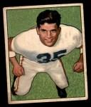 1950 Bowman #7  Alex Agase  Front Thumbnail