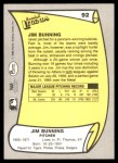 1988 Pacific Legends #92  Jim Bunning  Back Thumbnail