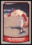 1988 Pacific Legends #2  Red Schoendienst  Front Thumbnail