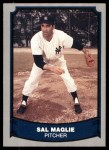 1988 Pacific Legends #85  Sal Maglie  Front Thumbnail