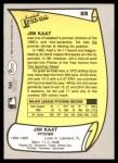 1988 Pacific Legends #88  Jim Kaat  Back Thumbnail