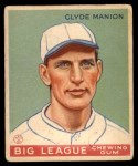 1933 Goudey #80  Clyde Manion  Front Thumbnail