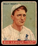 1933 Goudey #11  Billy Rogell  Front Thumbnail