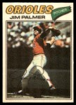 1977 Topps Cloth Stickers #36  Jim Palmer  Front Thumbnail