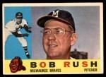 1960 Topps #404  Bob Rush  Front Thumbnail
