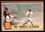 1962 Topps #138 GRN  -  Babe Ruth The Famous Slugger Front Thumbnail
