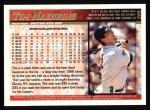 1998 Topps #205  Tim Naehring  Back Thumbnail