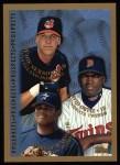 1998 Topps #257  David Ortiz / Richie Sexson / Daryle Ward  Front Thumbnail