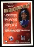 1998 Topps #271   -  Pedro Martinez Interleague Play Back Thumbnail