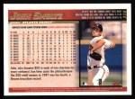 1998 Topps #319  John Smoltz  Back Thumbnail