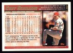 1998 Topps #332  Curt Schilling  Back Thumbnail