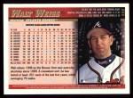 1998 Topps #456  Walt Weiss  Back Thumbnail