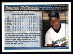 1998 Topps #462  Quinton McCracken  Back Thumbnail