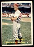 1957 Topps #162  Jack Meyer  Front Thumbnail