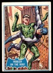 1966 Topps Batman Blue Bat Puzzle Back #37   Riddler on the Roof Front Thumbnail