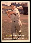 1957 Topps #51  Clint Courtney  Front Thumbnail