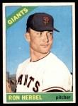 1966 Topps #331  Ron Herbel  Front Thumbnail