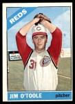 1966 Topps #389  Jim O'Toole  Front Thumbnail