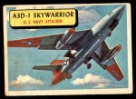1957 Topps Planes #56 BLU  A3d-1 Skywarrior Front Thumbnail