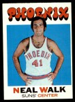 1971 Topps #9  Neal Walk   Front Thumbnail