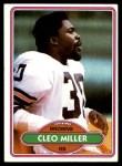 1980 Topps #354  Cleo Miller  Front Thumbnail