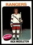 1975 Topps #37  Rick Middleton   Front Thumbnail
