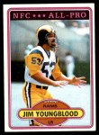 1980 Topps #120   -  Jim Youngblood All-Pro Front Thumbnail
