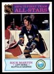 1975 Topps #289   -  Richard Martin  First Team All-Stars Front Thumbnail