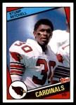 1984 Topps #347  Stump Mitchell  Front Thumbnail