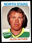 1975 Topps #222  Glen Sather   Front Thumbnail