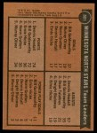 1975 Topps #321   -  Bill Goldsworthy / Dennis Hextall North Stars Leaders Back Thumbnail