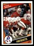 1984 Topps #136  Steve Grogan  Front Thumbnail