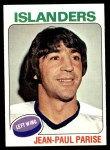 1975 Topps #127  Jean-Paul Paris  Front Thumbnail