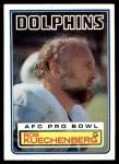 1983 Topps #315  Bob Kuechenberg  Front Thumbnail