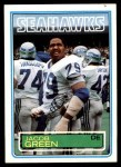 1983 Topps #385  Jacob Green  Front Thumbnail
