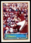 1983 Topps #290  Nick Lowery  Front Thumbnail