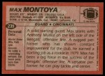 1983 Topps #239  Max Montoya  Back Thumbnail