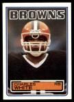 1983 Topps #259  Charles White  Front Thumbnail