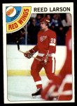 1978 Topps #226  Reed Larson  Front Thumbnail